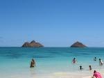 The Mokes at Kailua Beach Hawaii